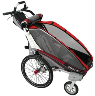 Thule CX Stroller - 1 Child - Red