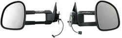 CIPA 1997 Dodge Ram Pickup Custom Towing Mirrors