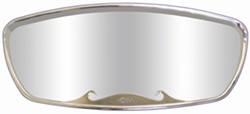 Replacement Mirror Head for CIPA Wave Rearview Boat Mirror - Chrome