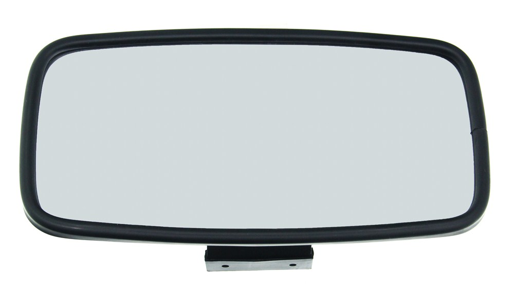 Cipa comp rearview boat mirror convex round windshield for Long wide mirror