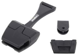 CIPA Mirror Bracket for Boat Windshield - Clamp On - U-Clamp Mirror Mount - Black