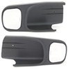 CIPA Custom Towing Mirrors - Slip On - Driver Side and Passenger Side