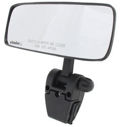 "CIPA Comp II Rearview Boat Mirror - Convex - Windshield Mount - 11"" Long x 4"" Wide - Black"