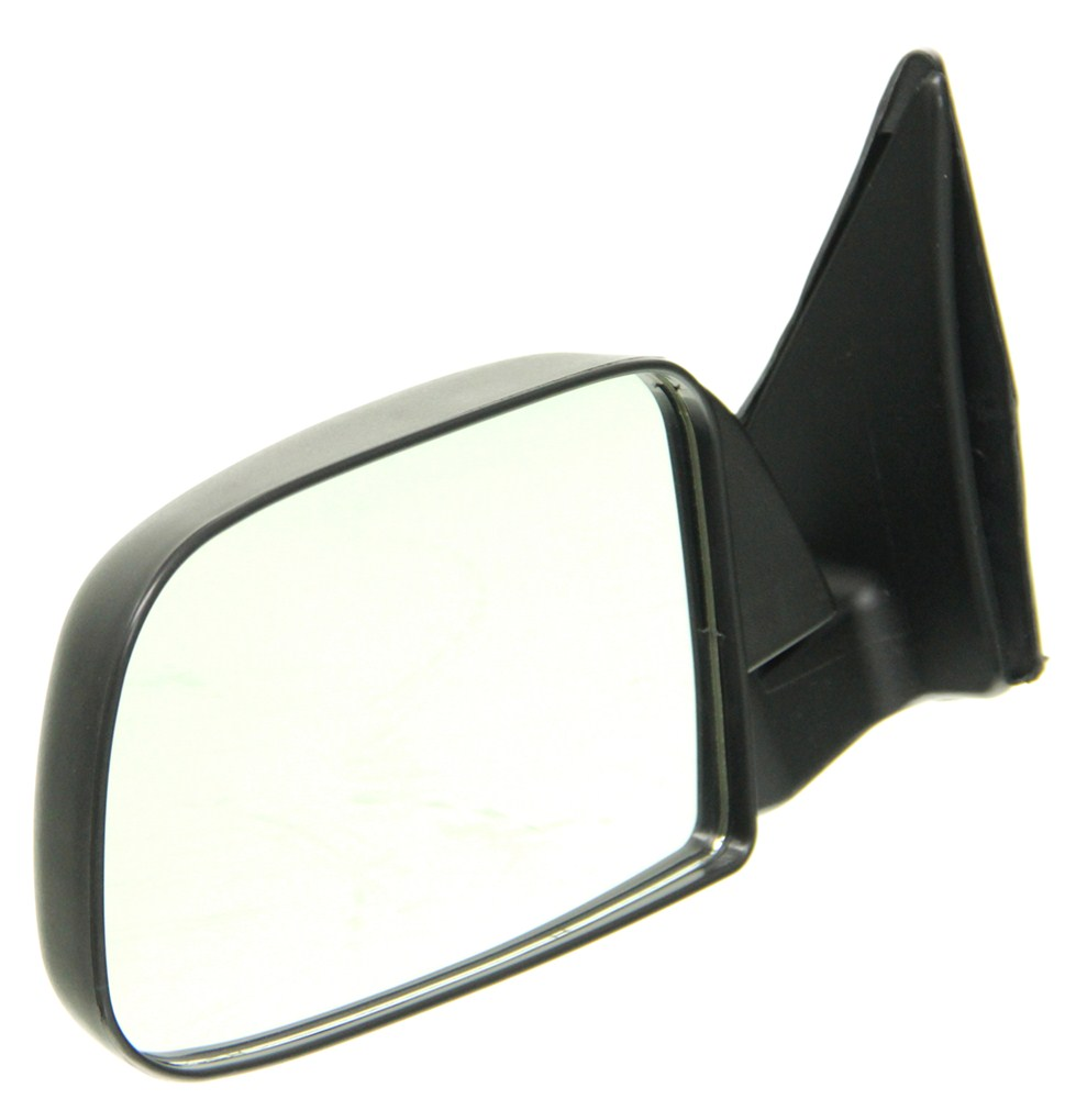 Cipa replacement side mirror manual black driver for Mirror replacement