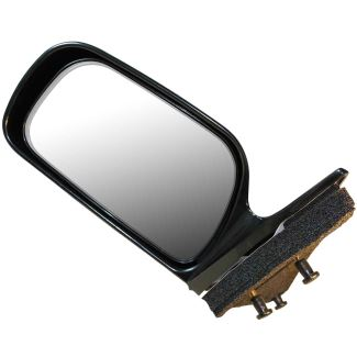 cipa replacement side mirror electric gloss black driver side cipa replacement mirrors cm17533. Black Bedroom Furniture Sets. Home Design Ideas