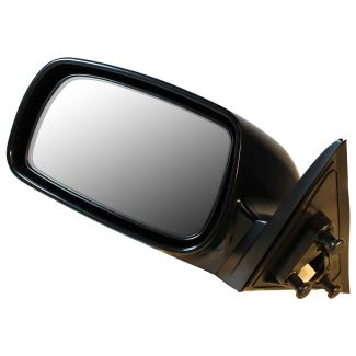 cipa replacement side mirror electric gloss black driver side cipa replacement mirrors cm17535. Black Bedroom Furniture Sets. Home Design Ideas