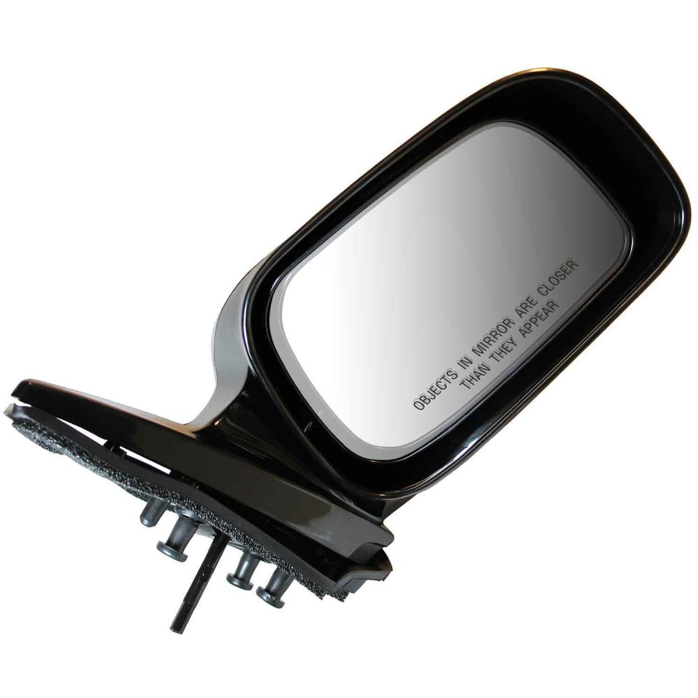 Cipa replacement side mirror manual gloss black for Mirror replacement