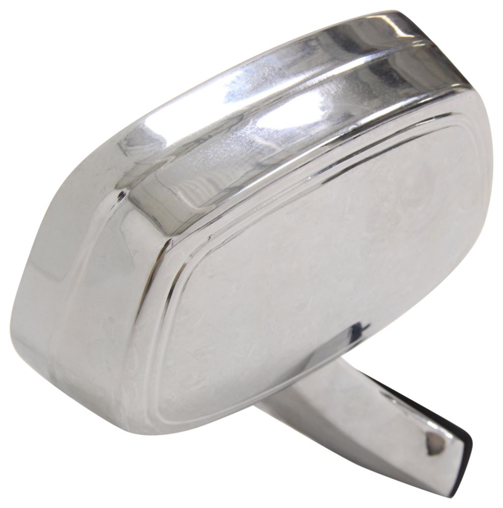cipa replacement side mirror manual chrome passenger