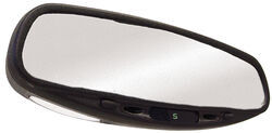 CIPA Auto-Dimming Rearview Mirror with Compass and Map Lights - Wedge Mount