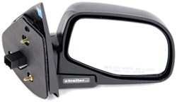 Replacement Side Mirror Electric Black Penger