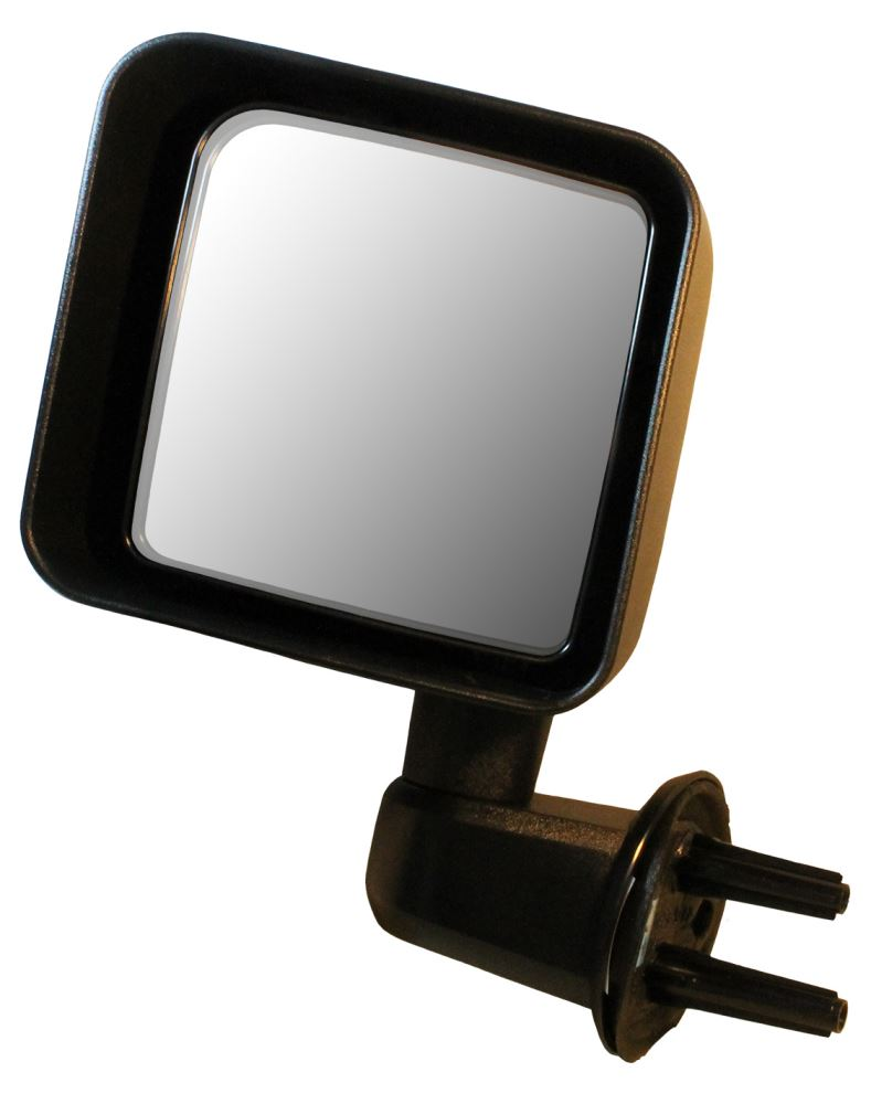 Cipa replacement side mirror manual textured black for Mirror replacement