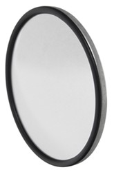 "CIPA Round, Convex HotSpot Mirror - Bolt On - 6"" Diameter - Stainless Steel - Qty 1"
