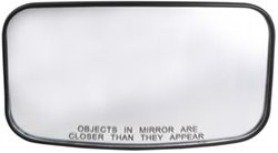 "CIPA Clamp-On HotSpot Mirror - 4"" x 8"" - Convex"