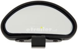 "CIPA Top Mounted Blind Spot Mirror - Convex - Clamp On - 4"" Oval - Qty 1"