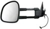 CIPA Magna Custom Extendable Towing Mirror - Electric - Driver Side