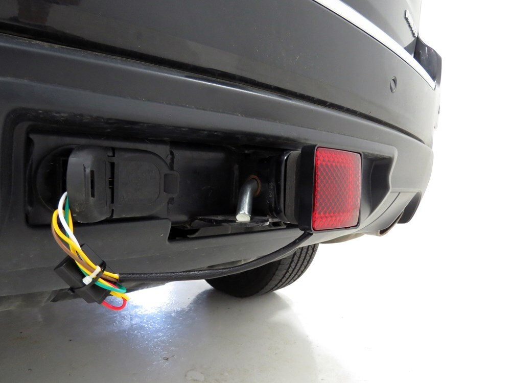 brake and tail light trailer hitch receiver cover for 2 trailer hitches. Black Bedroom Furniture Sets. Home Design Ideas
