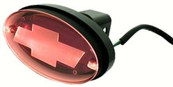 "Chevrolet - Brake and Tail Light LED Receiver Cover for 2"" Trailer Hitches"