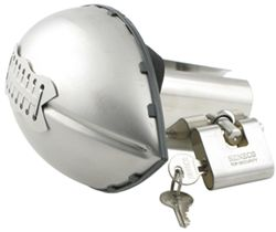 Football Stainless Steel Trailer Hitch Cover with Lock
