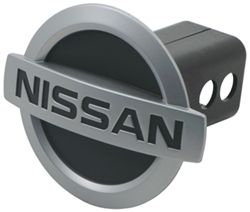 Nissan Logo Chrome Trailer Hitch Cover