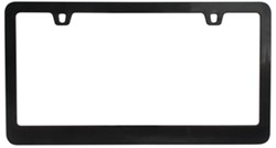 Neo Classic License Plate Frame - Black