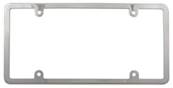 Elite Stainless License Plate Frame - Stainless Steel