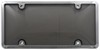 Tuf Combo License Plate Frame and Smoke-Tinted Shield - Chrome
