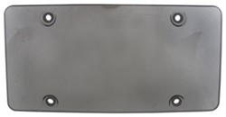 Cruiser Accessories Bubble Shield for License Plates - Smoke