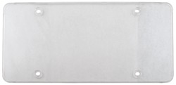 Tuf Flat Shield for License Plates - Clear