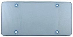 Cruiser Accessories Tuf Flat Shield for License Plates - Blue