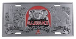 "Alabama ""Big Al"" Sports Plate - 3D License Plate"