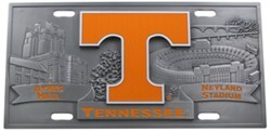 Tennessee Sport Plate - 3D License Plate