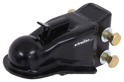 "Trailer Coupler - Adjustable Channel Mount - Thumb Latch - Black - 2-5/16"" Ball - 14,000 lbs"