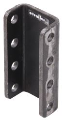"Ram 3-Position Adjustable Channel Bracket for Couplers - 6"" Height Adjustment - 14,000 lbs"