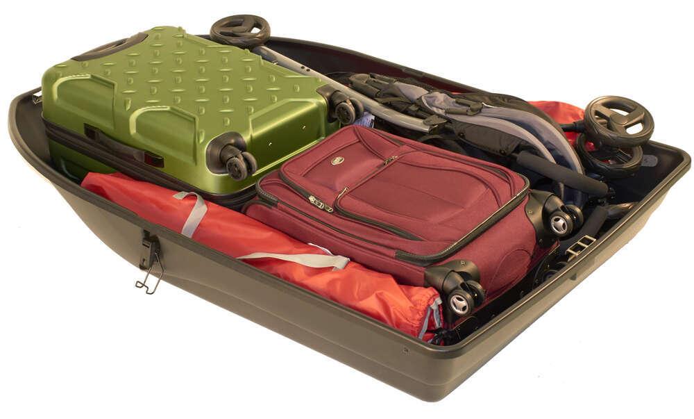Car Top Cargo Rooftop Cargo Box 18 Cu Ft Black Car Top