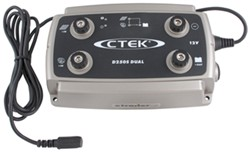 CTEK D250S DUAL Universal 12-Volt Battery Charger - Multiple 12-Volt DC Power Sources