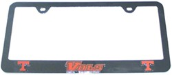 Tennessee Volunteers NCAA 3-D License Plate Frame - Chrome-Plated Steel