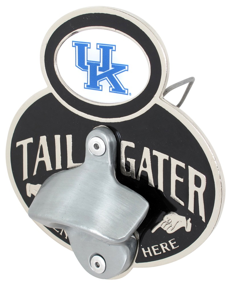 kentucky wildcats ncaa tailgater hitch cover with bottle opener 2 hitches alfred hitch cover. Black Bedroom Furniture Sets. Home Design Ideas
