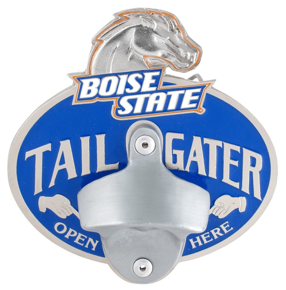 boise state broncos ncaa tailgater hitch cover with bottle opener 2 hitches alfred hitch. Black Bedroom Furniture Sets. Home Design Ideas