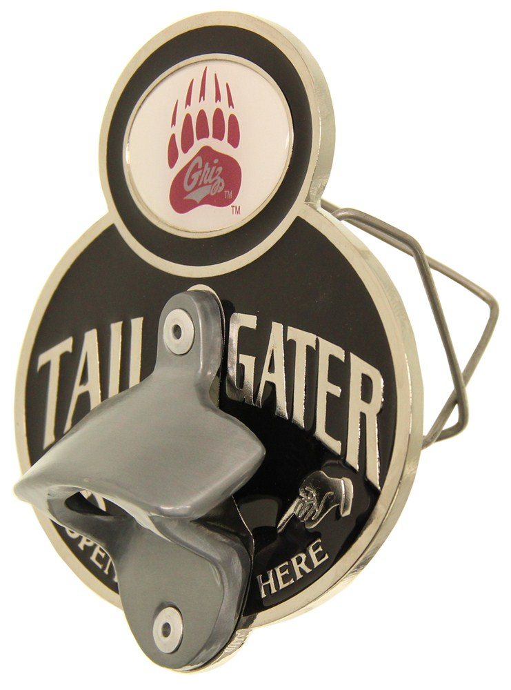 montana grizzlies ncaa tailgater hitch cover with bottle opener 2 hitches alfred hitch cover. Black Bedroom Furniture Sets. Home Design Ideas