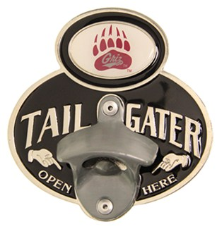 montana grizzlies ncaa tailgater hitch cover with bottle opener 2 hit. Black Bedroom Furniture Sets. Home Design Ideas