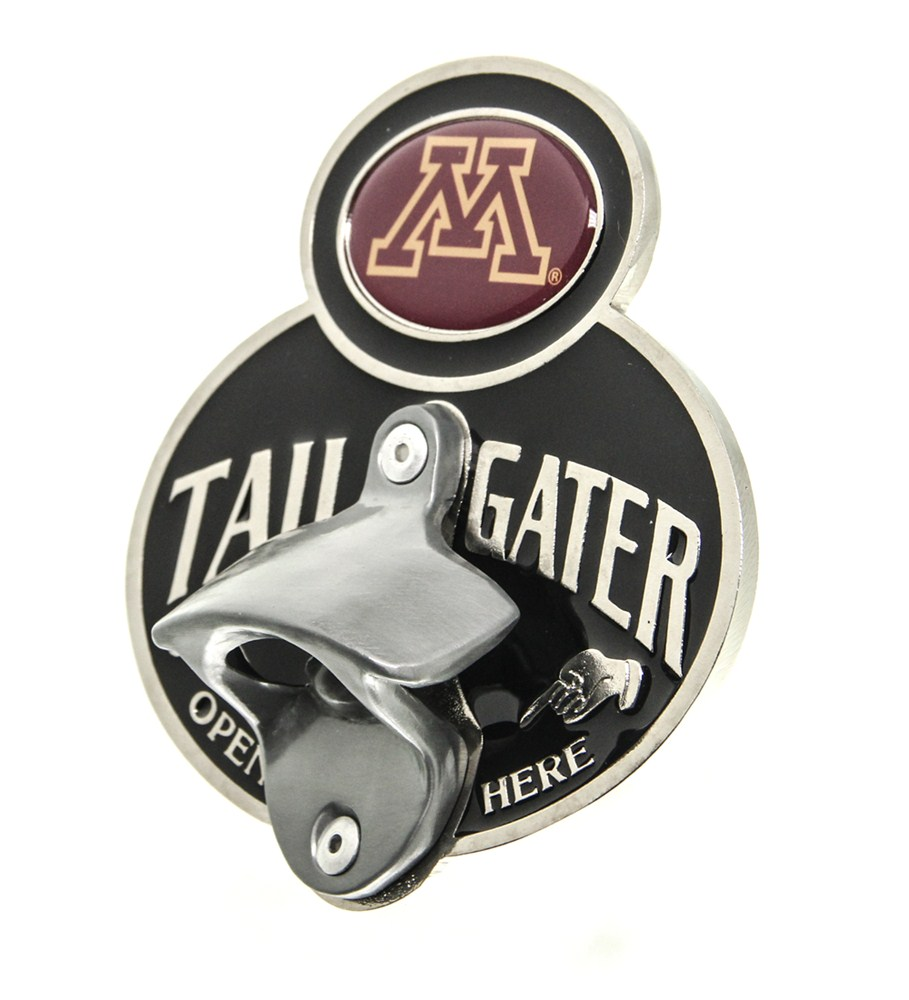 minnesota gophers ncaa tailgater hitch cover with bottle opener 2 hitches alfred hitch cover. Black Bedroom Furniture Sets. Home Design Ideas