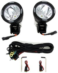 driving light kit halogen 55 watt round 2 7 16 clear lens w chrome housing qty 2. Black Bedroom Furniture Sets. Home Design Ideas