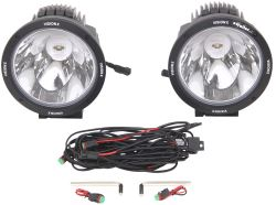 "Vision X Light Cannons Off-Road Light Kit - LED - 180 Watts - Spot Beam - 8.7"" Diameter"