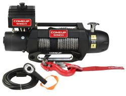 ComeUp Seal Gen2 Off-Road Winch - Synthetic Rope - Hawse Fairlead - 9,500 lbs