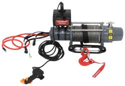 ComeUp DV-9s Off-Road Winch - Synthetic Rope - Hawse Fairlead - 9,000 lbs