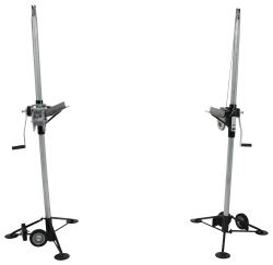 "Brophy Heavy Duty Cable Camper Jacks - 67"" Max Lift Height - 4,000 lbs - Qty 2"
