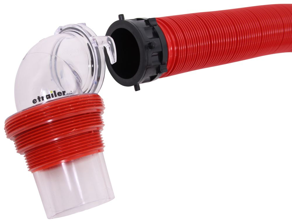 EZ Coupler RV Sewer Hose Kit w/ Swivel Fittings and 4-in-1