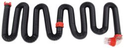Dominator RV Sewer Hose Kit w/ Swivel Fittings and 4-in-1 Clear Adapter - (2) 10' Long Hoses