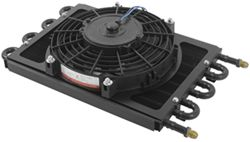 Derale Dyno-Cool Remote Cooler with Fan and AN Inlets - Class IV