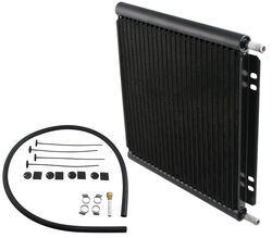 Derale Series 8000 Plate-Fin Transmission Cooler Kit w/Barb Inlets - Class IV - Efficient